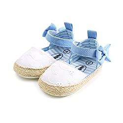 Baby Girls Princess Bowknot Soft Sole Crib Shoes Sneaker