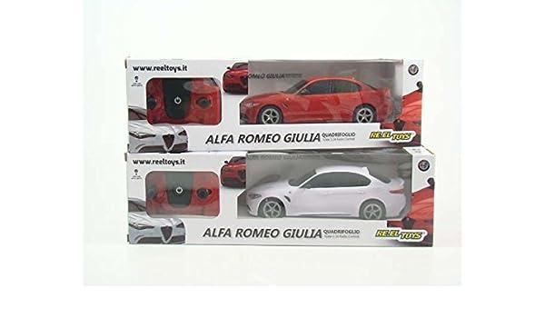 RE.EL.TOYS S.r.l. Auto R/C 1:24 Alfa Romeo Giulia 2169: Amazon.es ...