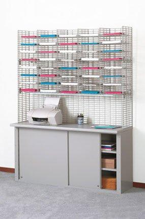 Charnstrom 40 Pockets Legal Depth Shelf Triple Organizer (W448)