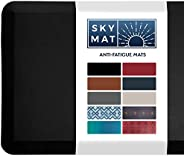 Sky Solutions Anti Fatigue Mat - Cushioned Comfort Floor Mats For Kitchen, Office & Garage - Padded Pad Fo
