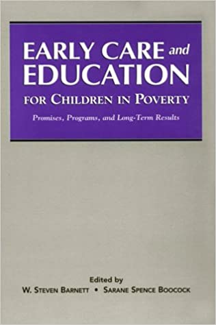 Early Care And Education For Children In Poverty Promises Programs