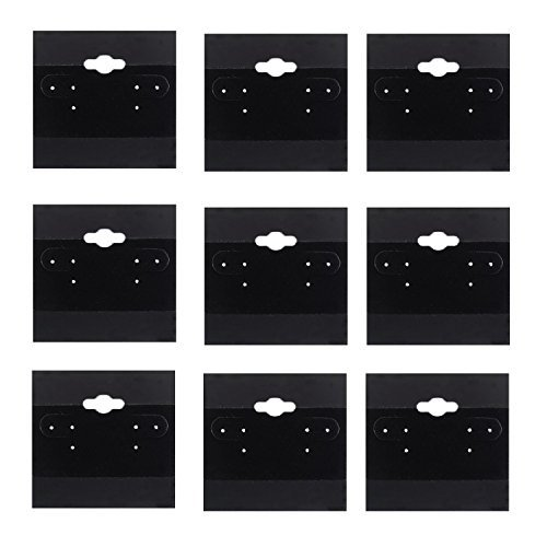 - Adorox 2 x 2 Inch (200 Cards) Earring Jewelry Display Hanging Cards Showcase