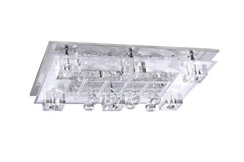 LED Deckenstrahler 8 Flammig Deckenleuchte Schlafzimmer Lampe Farbwechsel Fernbedienung Deckenlicht Deckenlampe Wohnzimmer Leuchte