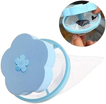Volwco 1 bolsa de malla flotantes para lavadora, reutilizables ...