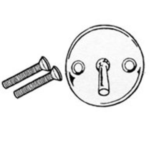 FACEPLATE TRIPLEVER SCREWS&PIN PLUMB PAK PP826-1PB 046224999850 by Plumb Pak