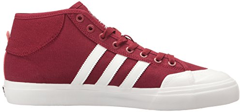 Adidas Originals Matchcourt Mid Fashion Sneakers Collegiale Bordeaux / Wit / Wit