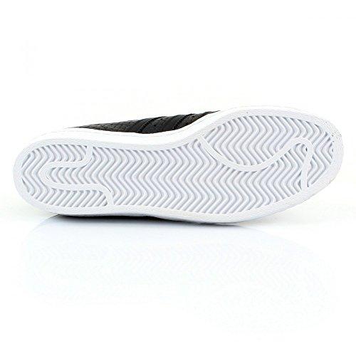 Adidas Superstar 80's Woven Herren Sneaker Schwarz 46 EU / 11 UK