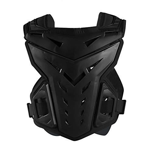 Motorcycle Armor Vest, Shockproof Back Protector Armor for Motorbike Motocross Off-Road Racing Biking Skiing Roller Skating (Black)