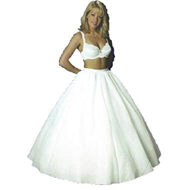 Quinceañera Mega Full Bridal Wedding Slip Quince(444V) (Medium)