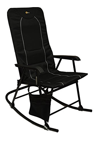 Faulkner 49597 Dakota Rocking Chair, Black by Faulkner