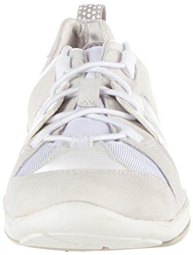 Geox D Arrow C, Zapatillas para Mujer Blanco (Whitec1000)