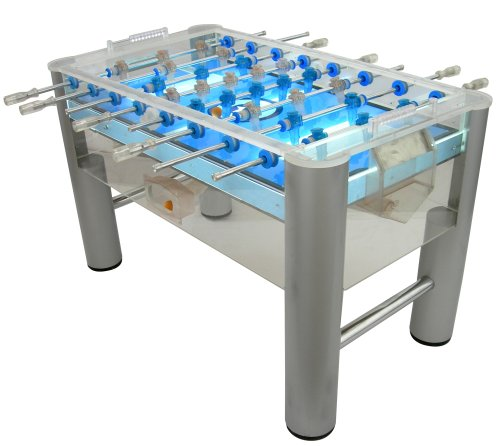 Amazon.com : Classic Sport Table Soccer   Clear PVC, Underlit Table : Foosball  Tables : Sports U0026 Outdoors