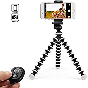 High Quality KCOOL Octopus Style Portable And Adjustable Tripod Stand Holder For IPhone,  Cellphone,Camera With