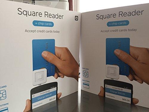 Square Chip Card Reader EMV 2PK