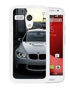 Diy White BMW M3 E92 Front White Durable Motorola Moto G Phone Case
