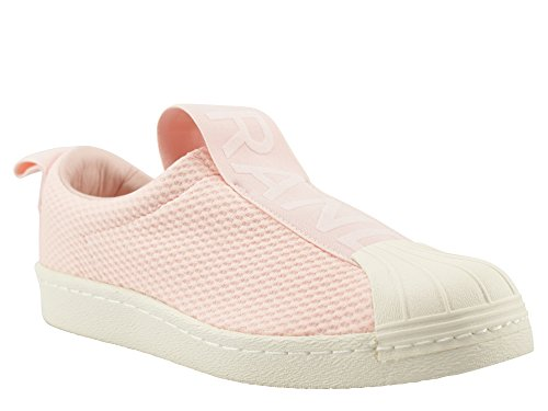 adidas Superstar Bw3s Slipon W, Zapatillas de Deporte para Mujer Varios colores (Roshel / Roshel / Casbla)