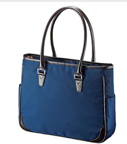 Lady Élégant Pouce Sac PINCHU Fourre Blue Business Portable Ordinateur Satchel 3 Serviette Femmes Top Designer Handle Léger Bureau 13 Tout x6qwn6AOf