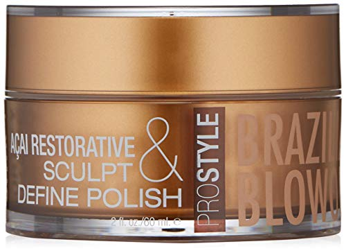 BRAZILIAN BLOWOUT Acai Restorative Sculpt & Define Polish, 2 Fl Oz