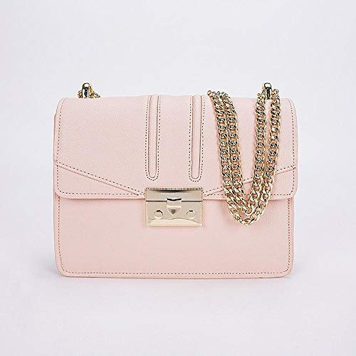 Bag Bag Chain Bag PU Hongge Single Small Square Bag Buckle Shoulder Fashion B Lock Female Retro Diagonal 8xq7HqnZ