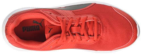 official site online fashion Style for sale Puma Unisex Adults' Escaper Mesh Low-Top Sneakers Red (Flame Scarlet-puma Black) newest cheap online clearance good selling oomh4OQDmu