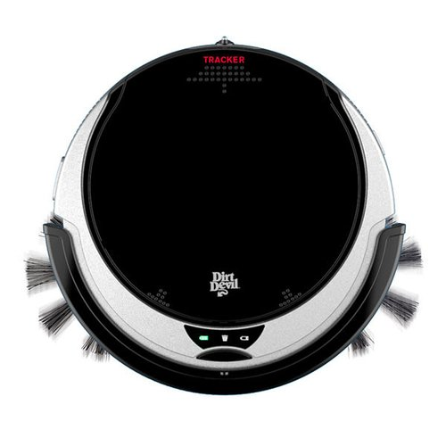 Dirt Devil M613 Sin bolsa 0.24L Negro, Rojo aspiradora robotizada - Aspiradoras robotizadas (Sin bolsa, Negro, Rojo, Alrededor, 0,24 L, Edge, Azar, ...