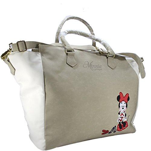 Disney Minnie Limited Edition Borsa da Donna a Spalla Shopper Grande