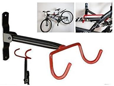 Estante con ganchos de pared para colgar y almacenar bicicletas ...