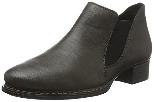 Rieker Damen 53683 Chelsea Boots Grau (Smoke / 45)