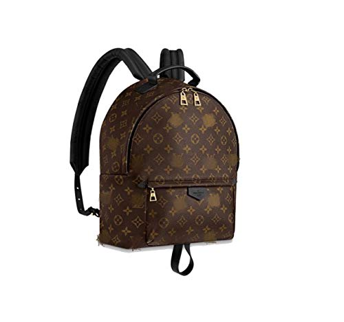HPASS Monogram Canvas Flap Small Backpack