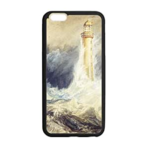 """Lighthouse On The Cliff Besides The Sea Phone Case Cover For iPhone 6 Plus Apple 5.5"""", TPU(Laser Technology)"""