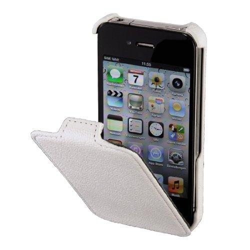 Hama Flap-Tasche Parma für Apple iPhone 4/4S weiß