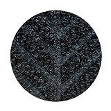 Entrance Mat, Rubber/PET, Black, 10 x 4 ft