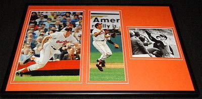 - Brooks Robinson Framed 12x18 Photo Display Orioles
