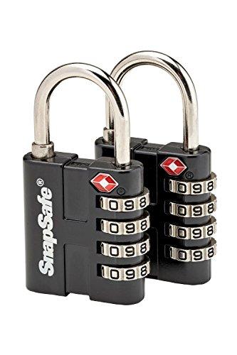 SnapSafe TSA Padlock (2 Pack)