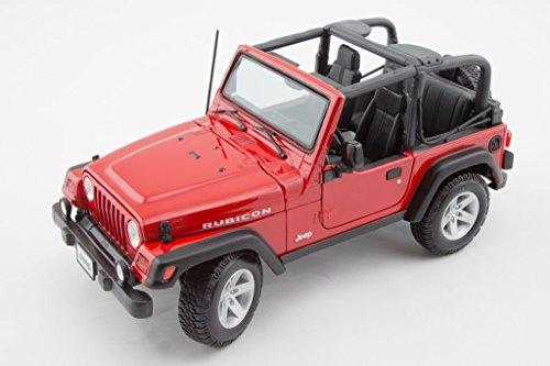 Jeep Wrangler Rubicon 1/18 Red