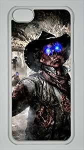 Call of Duty Black Ops 2 Vengeance Custom PC Transparent Case for iPhone 5C by icasepersonalized
