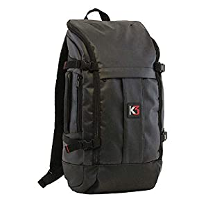K3 Alpha 24 Liter Weatherproof Water Resistant Backpack