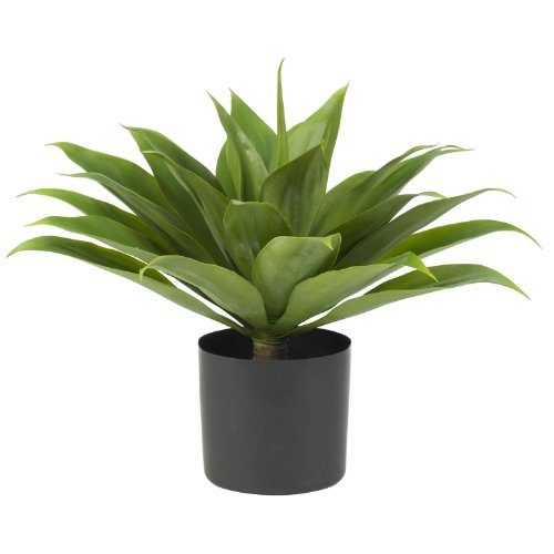 Nearly Natural 6565 Agave Decorative Silk Plant, Green (Extraordinary Plants)