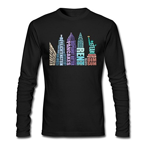 SAMMA Men's I love New York Long Sleeve T - Online Watch Ray Shades Of