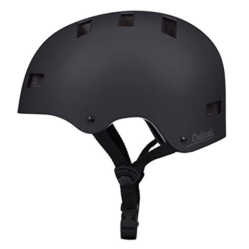 Critical Cycles Classic Commuter CM-1 Helmet, Matte Black, M