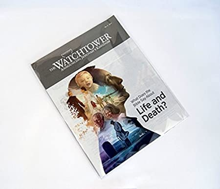 Celloexpress/® Jw Magazine//brochure 22,9/x 17,8/cm autosigillanti/ /Violoncello Misura 185/mm x 228/mm /40/Micron 30/mm Flap/