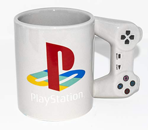 10oz Playstation Officially Mug Paladone Coffee Licensed Merchandise Controller CerxdBo