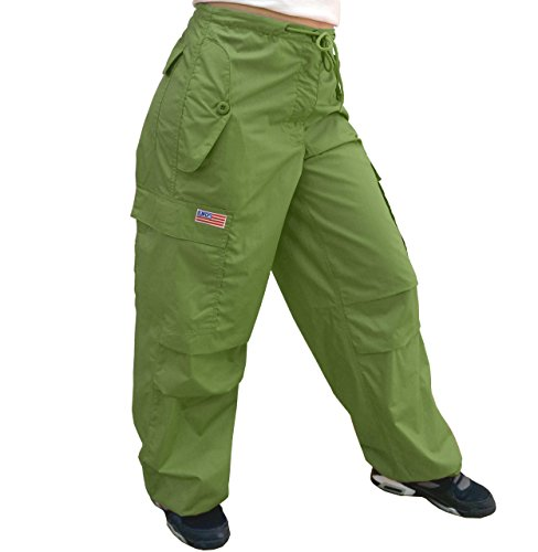 Pants Ufo (UFO's Flap Pocket Pant, Lime (X-Large))