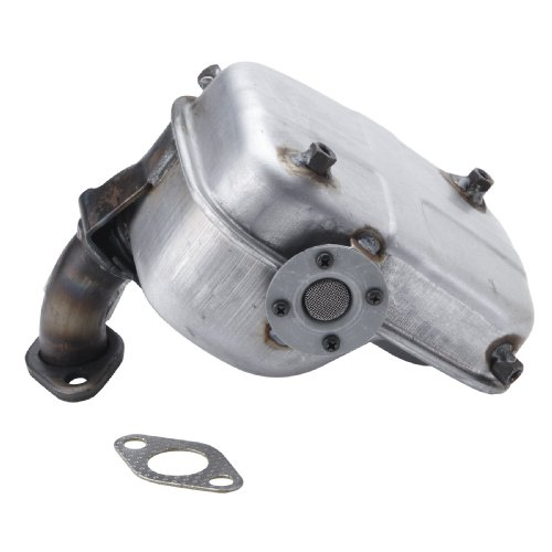 Briggs & Stratton 715435 Lo-Tone Muffler For 5.5 and 6 HP Vanguard OHV Horizontal (Stratton Ohv Horizontal Engine)