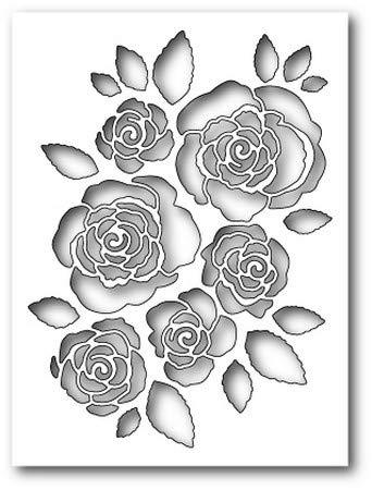 (Memory Box - Dies - English Rose)