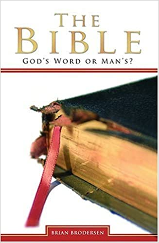 THE BIBLE GODS WORD OR MANS EBOOK