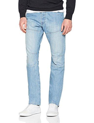bleachwash Bleachwash Enzo Straight Jeans Uomo Blu wnW0P0qrg