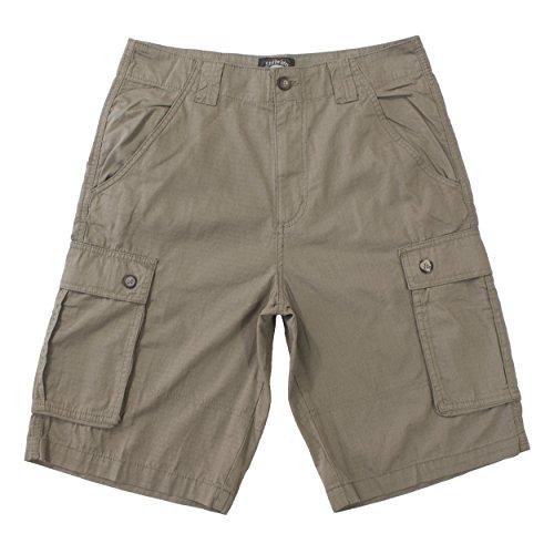 Stillwater Ripstop Outdoor Regular Mens Cargo Shorts (38,Khaki)