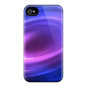 For Case Samsung Galaxy Note 2 N7100 Cover trong Protect Cases - Space Vortex Background Design