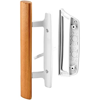 "Style Handle 4-15//16/"" Screw Holes Reversible Handle C1277 CRL White Mortise"